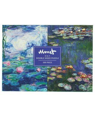 Puzzle double-face Monet 2-in-1 - 500 pièces ABRAMS & CHRONICLES BOOKS