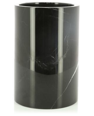 Seau à champagne en marbre noir STONED
