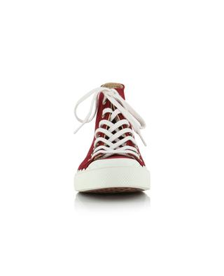 Lauren suede high-rise sneakers CHLOE