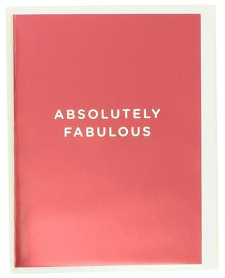 Absolutely Fabulous post card LAGOM DESIGN