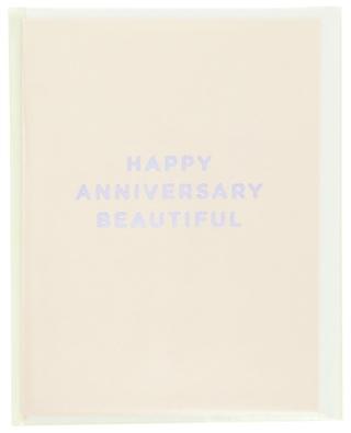Postkarte Happy Anniversary Beautiful LAGOM DESIGN