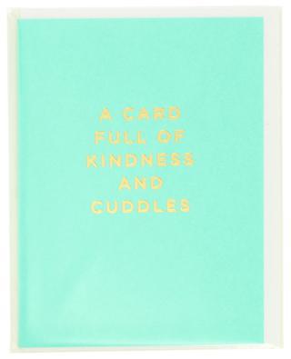 Postkarte A Card Full Of Kindness And Cuddles LAGOM DESIGN