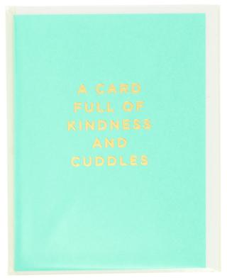 Carte postale A Card Full Of Kindness And Cuddles LAGOM DESIGN