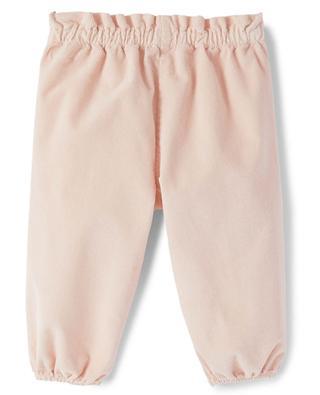 Pantalon de jogging bébé en velours IL GUFO
