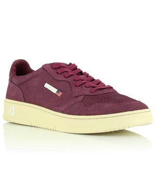 Autry 01 Low Man Low top sneakers in suede leather with laces AUTRY
