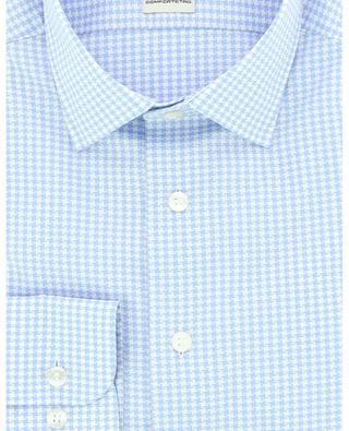 Houndstooth check cotton jacquard shirt ETRO
