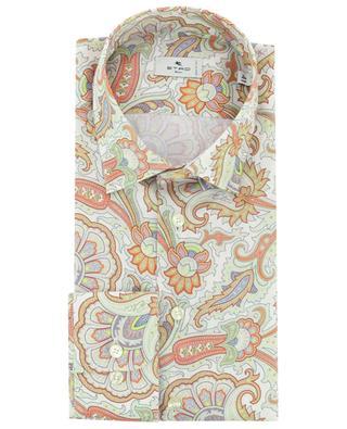Hemd aus Baumwolle mit orientalischem Print ETRO