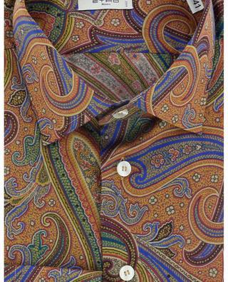 Chemise en sergé de coton imprimée Paisley ETRO