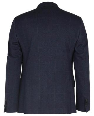Single-breasted glen check blazer in cotton and wool ETRO