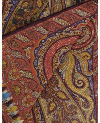 Feiner Schal mit Paisley- und Pythonmotiv Delhy ETRO