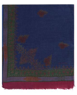 Schal aus Modal und Wolle mit ethnischen Motiven Shaal-Nur ETRO
