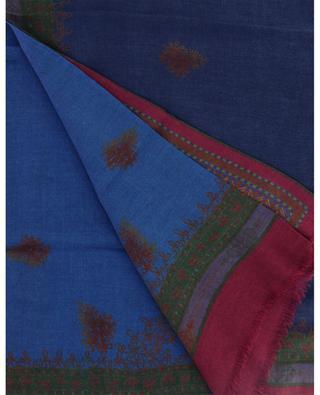 Écharpe en modal et laine avec motifs ethniques Shaal-Nur ETRO