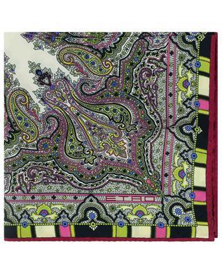 Einstecktuch aus Seide mit orientalischem Print Bangalore ETRO