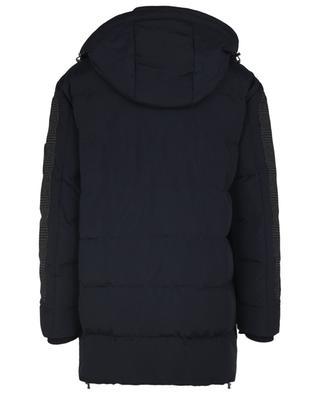 Nylon down jacket with glen check details ETRO