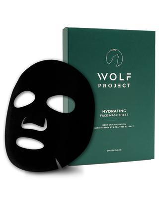 Masque Hydratant en Tissu Visage - 5 unités WOLF PROJECT