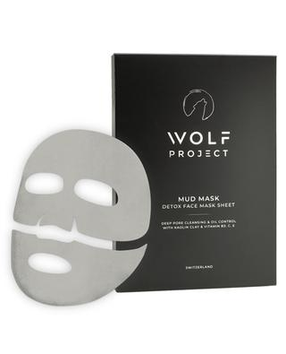 Detox Mud Sheet Masks - Pack of 5 WOLF PROJECT