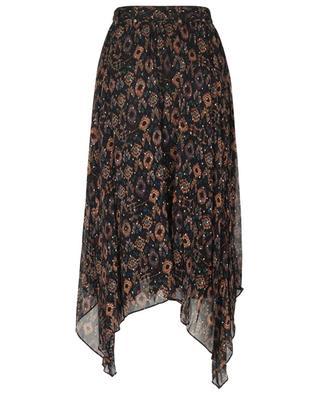 Nehir Ikat patterned chiffon handkerchief skirt ULLA JOHNSON