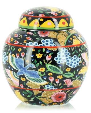 Teedose aus Porzellan Colombo Nero LA DOUBLEJ