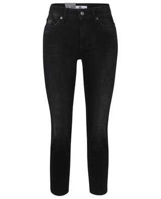 Parla dark-washed slim fit cotton stretch jeans CAMBIO