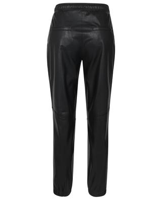 June jogging spirit faux leather trousers CAMBIO