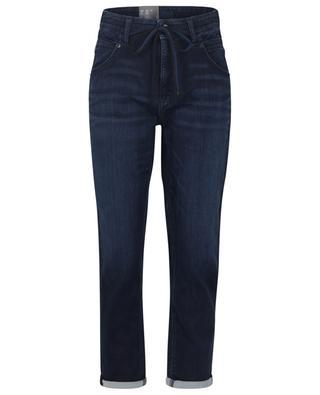 Skinny-Fit-Jeans mit hohem Bund und Kordel Kea CAMBIO