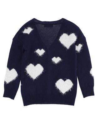 Girls' heart embellished cardigan MONNALISA