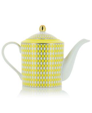 Teekanne aus Porzellan Chess POLS POTTEN
