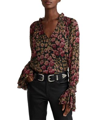 Transparente Bluse mit Blütenprint POLO RALPH LAUREN