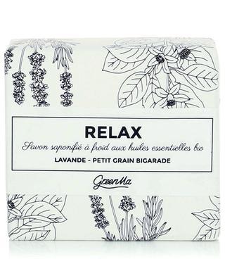 Im Kaltverfahren hergestellte Seife Relax - 100 g GREENMA