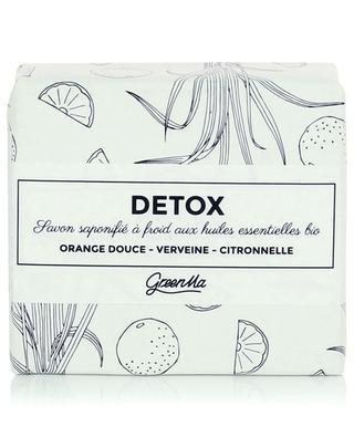 Im Kaltverfahren hergestellte Seife Detox - 100 g GREENMA