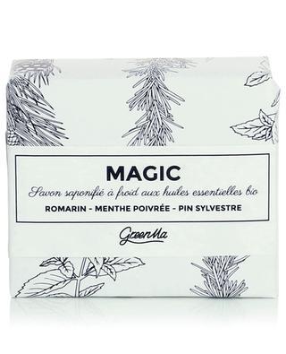 Im Kaltverfahren hergestellte Seife - Magic - 100 g GREENMA