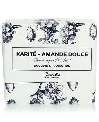 Im Kaltverfahren hergestellte Seife - Amande Douce - 100 g GREENMA