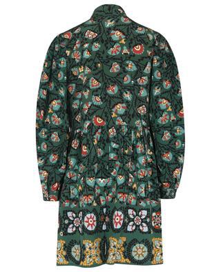 Mini robe en crêpe de chine Shorty Suzany Placée LA DOUBLEJ