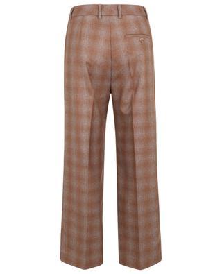 Pantalon large à carreaux Domenica SEDUCTIVE