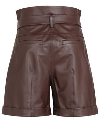 Short taille haute en cuir Exciting Softness DOROTHEE SCHUMACHER
