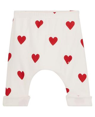 Pantalon bébé à coeurs PETIT BATEAU