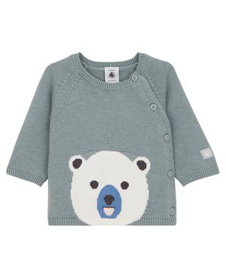 Little bear patterned cardigan PETIT BATEAU