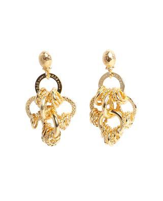 Boucles d'oreilles dorées longues Maranzana PM GAS BIJOUX
