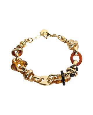 Prato golden bracelet with acetate GAS BIJOUX