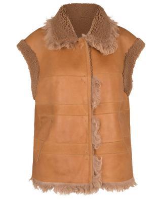 Reversible sheepskin waistcoat ARMA