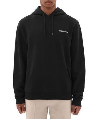 London logo embroidered hooded sweatshirt AXEL ARIGATO