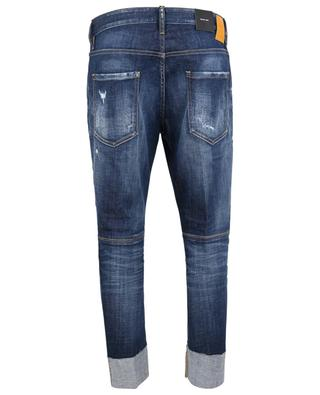 Gerade Jeans mit Umschlägen im Used-Look Sailor DSQUARED2
