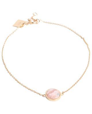 Bracelet en or rose et rhodochrosite Mini Ever GINETTE NY