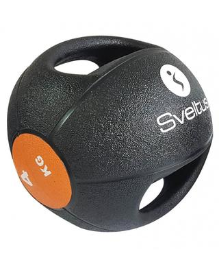 Double grip medicine ball 4 kg SVELTUS