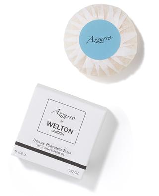 Parfümierte Luxusseife mit Traubenkernöl Azzuro - 100 g WELTON LONDON