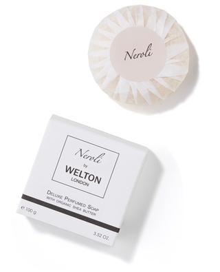 Savon de luxe parfumé au beurre de kartié bio Neroli - 100 g WELTON LONDON