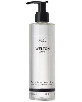 Savon liquide de luxe pour les mains à l'extrait d'amande douce Eden - 250 ml WELTON LONDON
