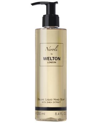 Savon liquide de luxe pour les mains à l'extrait de karité Neroli - 250 ml WELTON LONDON