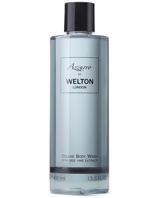 Luxus-Körperwaschgel mit rotem Weinlaub Azzurro - 400 ml WELTON LONDON