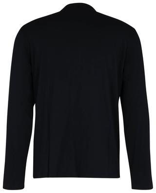 T-shirt en coton manches longues MAJESTIC FILATURES